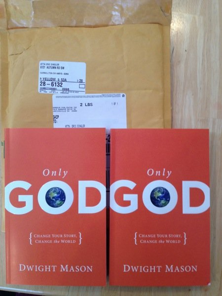 Only God Book: Interview and Giveaway with Author Dwight Mason