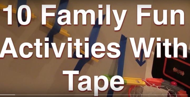 10 Activities With A Roll Of Tape