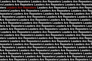 Leaders Are Repeaters