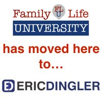 FamilyLifeUniversity.org has moved to EricDingler.com