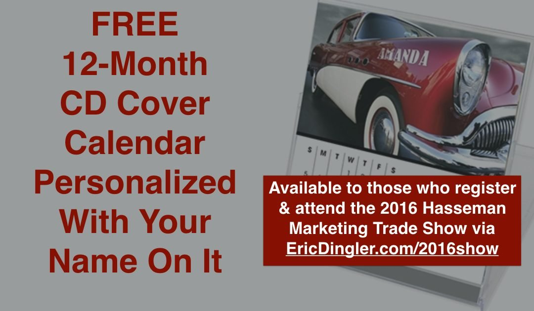 A FREE Calendar For Your Desk (Offer Expires August 30, 2016)