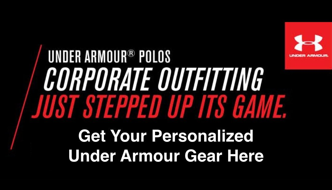 Get Under Armour Apparel Personalized For You And Your Team